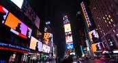 Rafaël Rozendaal selected artist for Times Square's electronic billboards