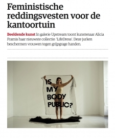 4 Star review in NRC for Alicia Framis' 'Forbidden Collections'