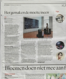 Review on JODI show at Upstream in Het Parool