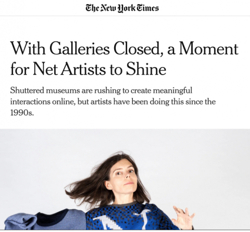 The New York Times on JODI