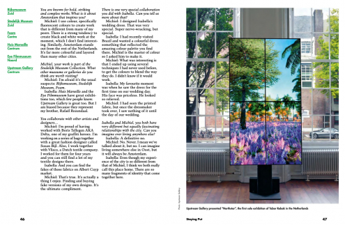 Upstream Gallery featured in the new Lost In travelguide of Amsterdam