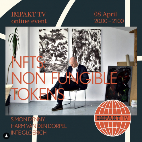 Harm van den Dorpel about NFTS, Impakt TV, 8 April 2021