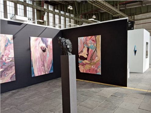 Dennis Rudolph at Positions Art Fair, Berlin (10 - 13 September 2020)