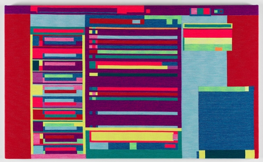 Rafaël Rozendaal in 'Colour & Abstraction' at Textielmuseum Tilburg