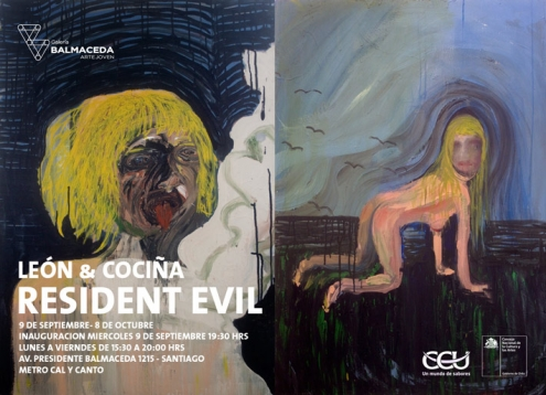 Exhibition 'Resident Evil' by Cristóbal León and Joaquín Cociña