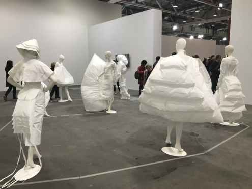 LifeDress by Alicia Framis among 6 best artworks at Art Basel